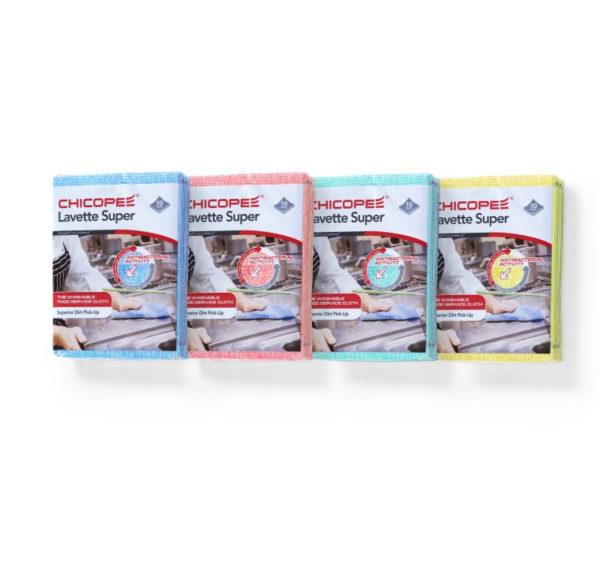 Viskozna salveta 51×36 cm 10 kom/paket LAVETTE SUPER Chicopee plava (74530)