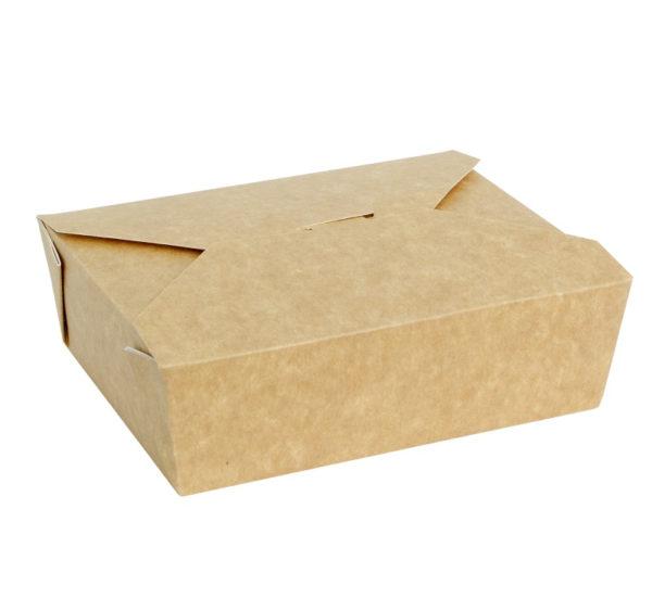 Papirnata posuda Fold Box 600 ml 130x110x65 mm kraft (50 kom/pak)