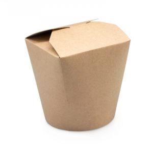 Papirnata posuda za WOK 750 ml kraft