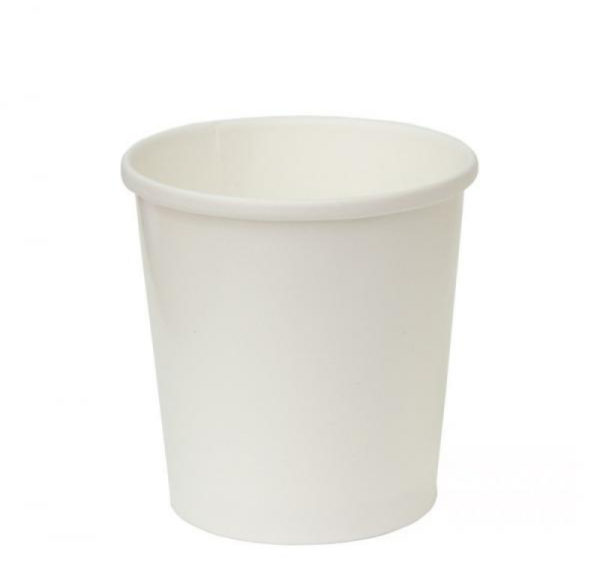 Papirnata posuda za juhu Tambien ECO 440 ml d=97 mm h=110 mm bijela (25 kom/pak)