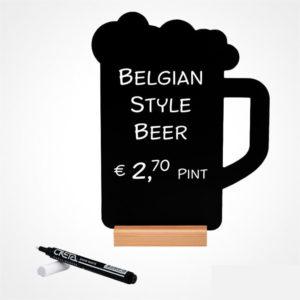Stolni stalak Čaša za pivo i marker #1