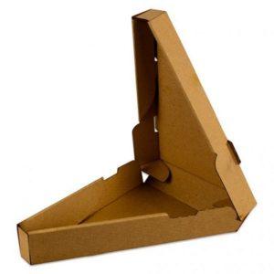 Kutija za pizzu trokutna 260 (3) x 40 mm (50 kom/pak)