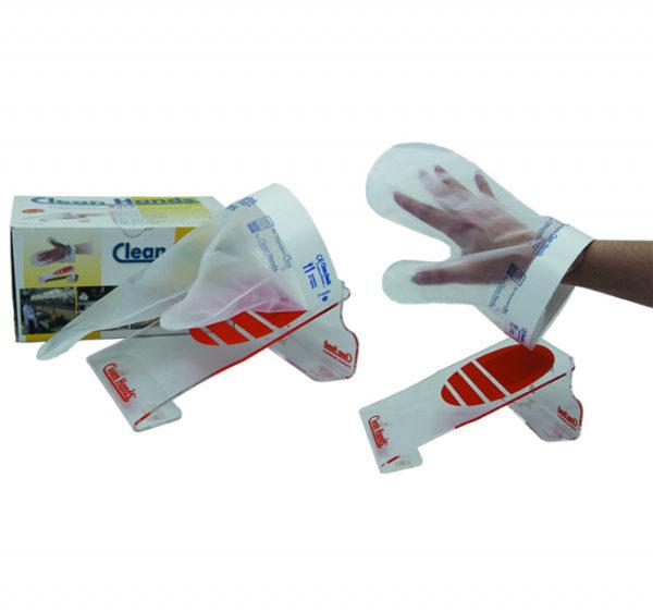 Komplet rukavice za višekratnu upotrebu s magnetskim držačem (1 držač, 1 manžeta, 4 rukavice)