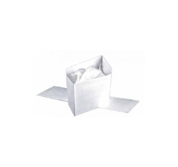 Zaštitna kapa vojnicka kapa papirnata bijela 100 kom/pak