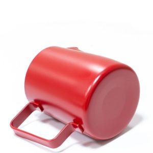 Vrč za mlijeko nehrđajući čelik 350 ml crven