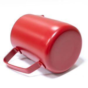 Vrč za mlijeko nehrđajući čelik 600 ml crven