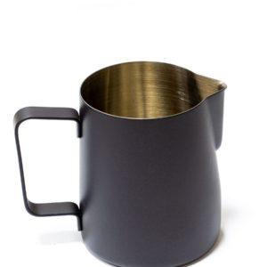 Vrč za mlijeko nehrđajući čelik 350 ml crn