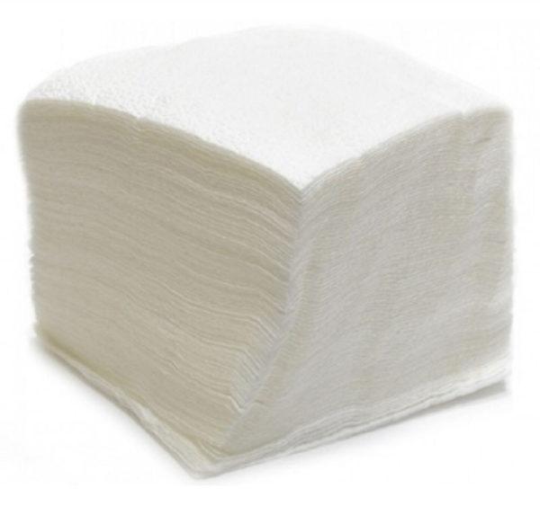 Papirnate salvete 1 sl 25×25 cm bijele 50 l/pak (60 kom/pak)
