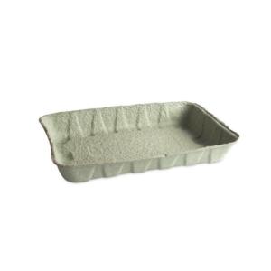 Kartonski pladanj 240x160x37 mm zelen