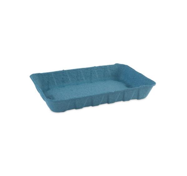 Kartonski pladanj 240x160x37 mm plavi