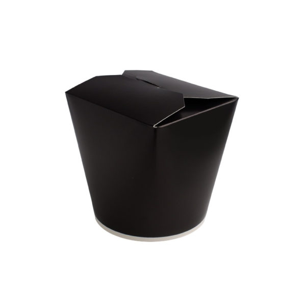 Papirnata posoda za WOK 750 ml črna (50 kom/pak)