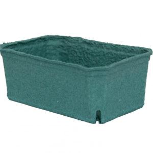 Kartonski pladanj 140x90x55 mm zelen