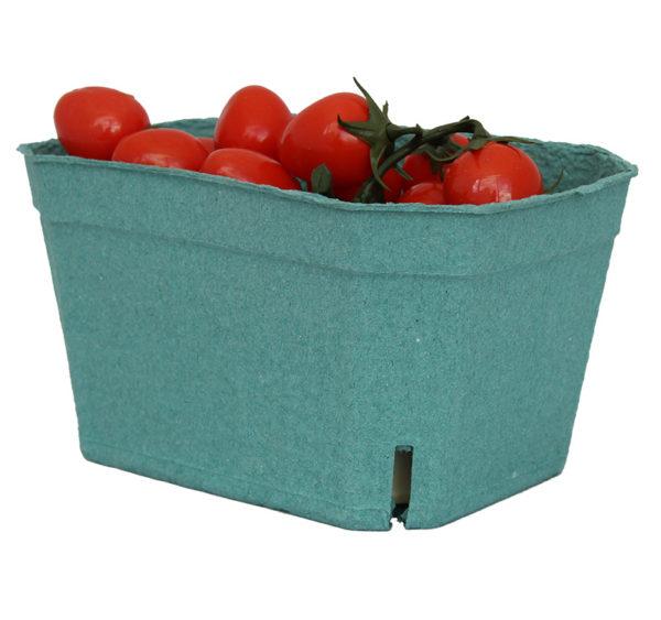 Kartonski pladanj 190x140x105 mm zelen