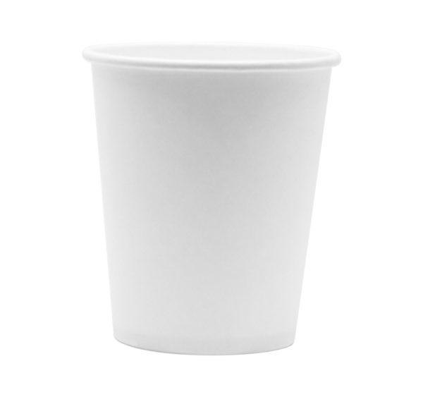 Čaša papirnata 185 ml d=73 mm 1-slojna bijela (100 kom/pak)