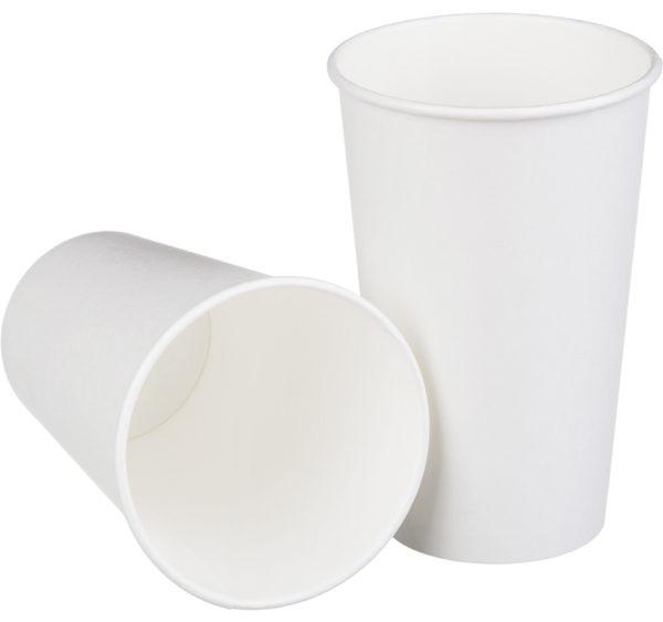 Čaša papirnata 400 ml d=90 mm 1-slojna (50 kom/pak)