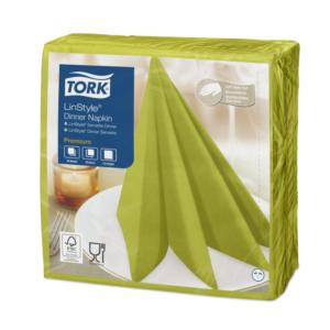 Salvete za večeru Tork Premium Linstyle® 39×39 cm, 50 kom/pak, pistacija