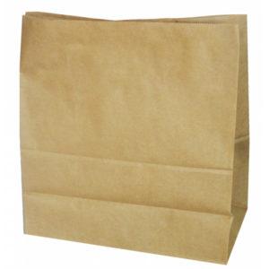 Papirnata vrečka 320х200х330 mm kraft (500 kom/pak)