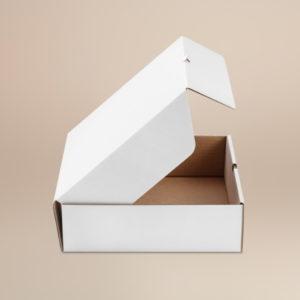 Kutija visoka za pitu 280x280x85 mm valovit karton (50 kom/pak)